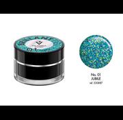 Victoria Vynn  Victoria Vynn™ - Brillant Gel UV/LED - Extreme glitters 01 Jubile - 5 gram