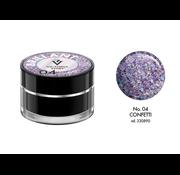 Victoria Vynn  Victoria Vynn™ - Brillant Gel UV/LED - Extreme glitters 04 Confetti - 5 gram