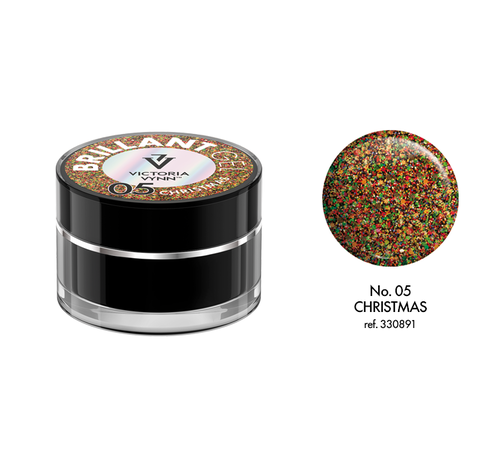 Victoria Vynn  Victoria Vynn™ - Brillant Gel UV/LED - Extreme glitters 05 Christmas - 5 gram