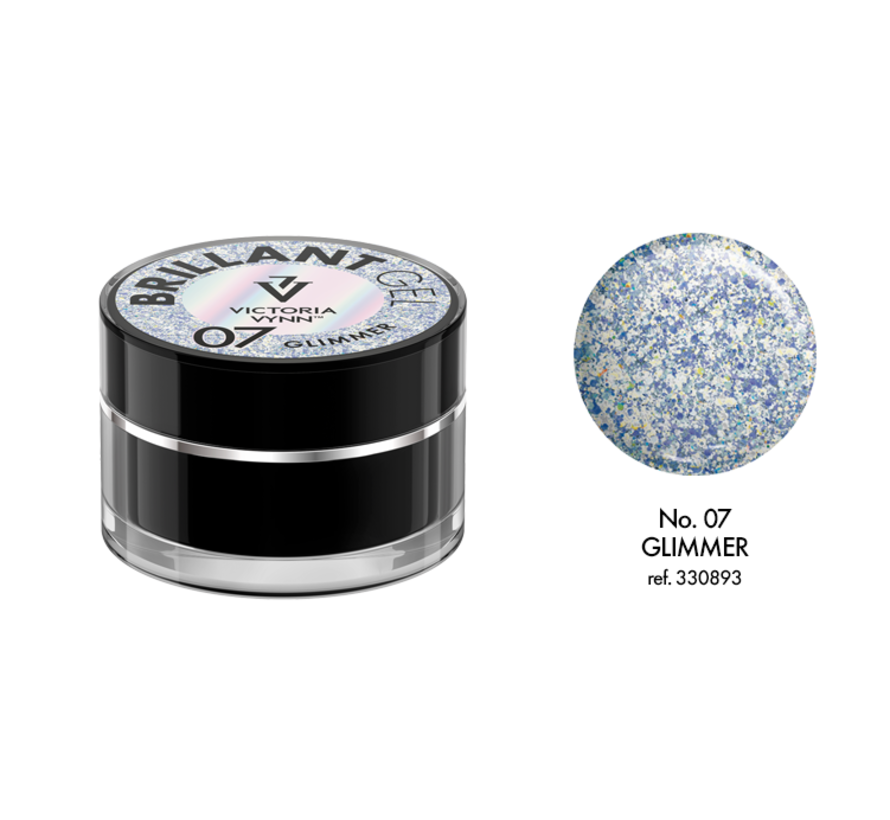 Victoria Vynn™ - Brillant Gel UV/LED - Extreme glitters 07 Glimmer - 5 gr.