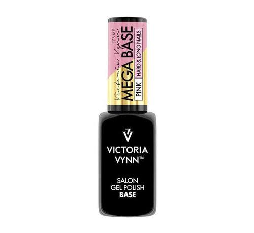 Victoria Vynn  Rubber Base - Victoria Vynn™ Gel Polish Mega Base - Hard & Long Nails - PINK 8 ml.