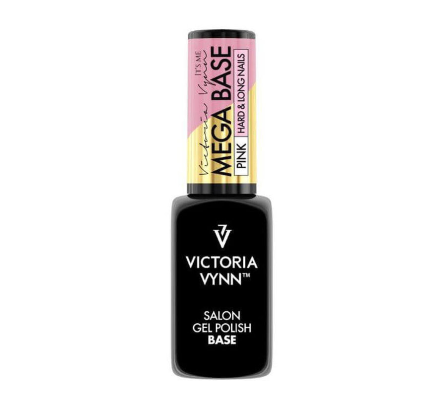 Rubber Base - Victoria Vynn™ Gel Polish Mega Base - Hard & Long Nails - PINK 8 ml.