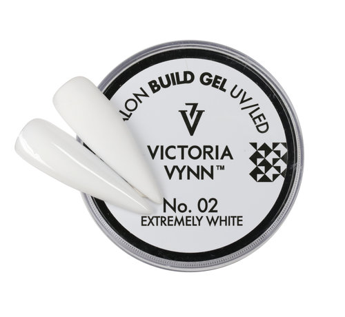 Victoria Vynn  Victoria Vynn™ - Buildergel - gel om je nagels mee te verlengen of te verstevigen -  Extremely White 15ml.