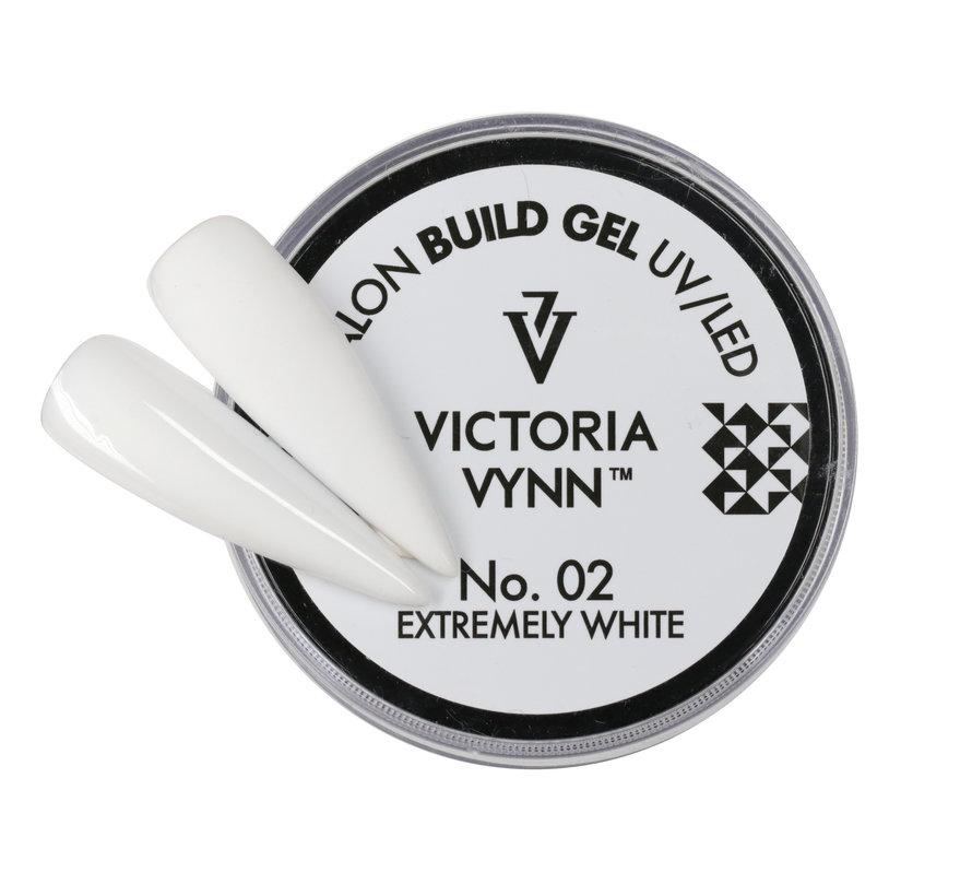 Victoria Vynn™ - Buildergel - gel om je nagels mee te verlengen of te verstevigen -  Extremely White 15ml.