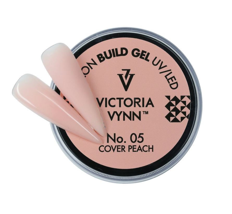 Victoria Vynn™ - Buildergel - gel om je nagels mee te verlengen of te verstevigen -  Cover Peach 15ml.