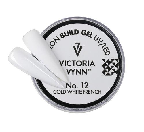 Victoria Vynn  Victoria Vynn Builder Gel - gel om je nagels mee te verlengen of te verstevigen - COLD WHITE FRENCH 15ml