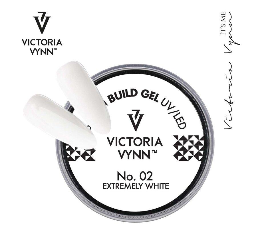 Victoria Vynn Builder Gel - gel om je nagels mee te verlengen of te verstevigen - Extremely White 50ml
