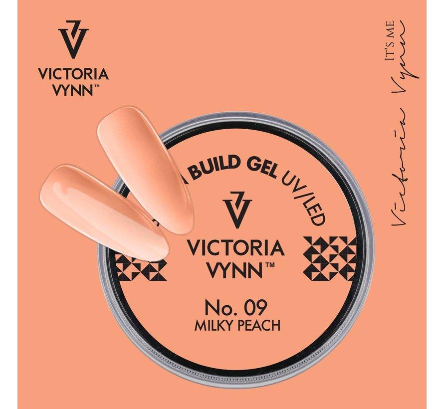 Victoria Vynn Builder Gel - gel om je nagels mee te verlengen of te verstevigen - Milky Peach 50ml