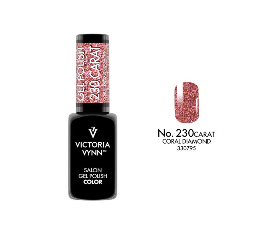 Victoria Vynn™ Gel Polish CARAT CORAL DIAMOND - 230 - 8 ml.