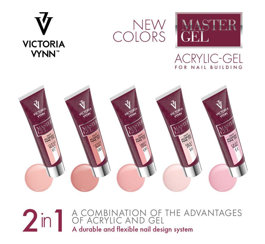 Victoria Vynn Polygel | Polyacryl Gel | Master Gel Dirty Pink 60 gr.