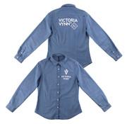 Victoria Vynn  Victoria Vynn | Limited Edition | Denim Blouse | Maat M