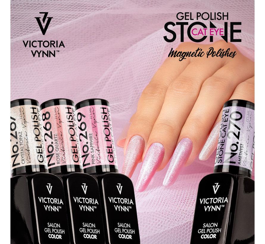 Victoria Vynn Gellak Stone Cat Eye Amethyst - 270 - 8 ml.