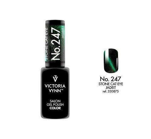Victoria Vynn  Victoria Vynn™ Gel Polish Stone Cat Eye Jade It  - 247 - 8 ml.
