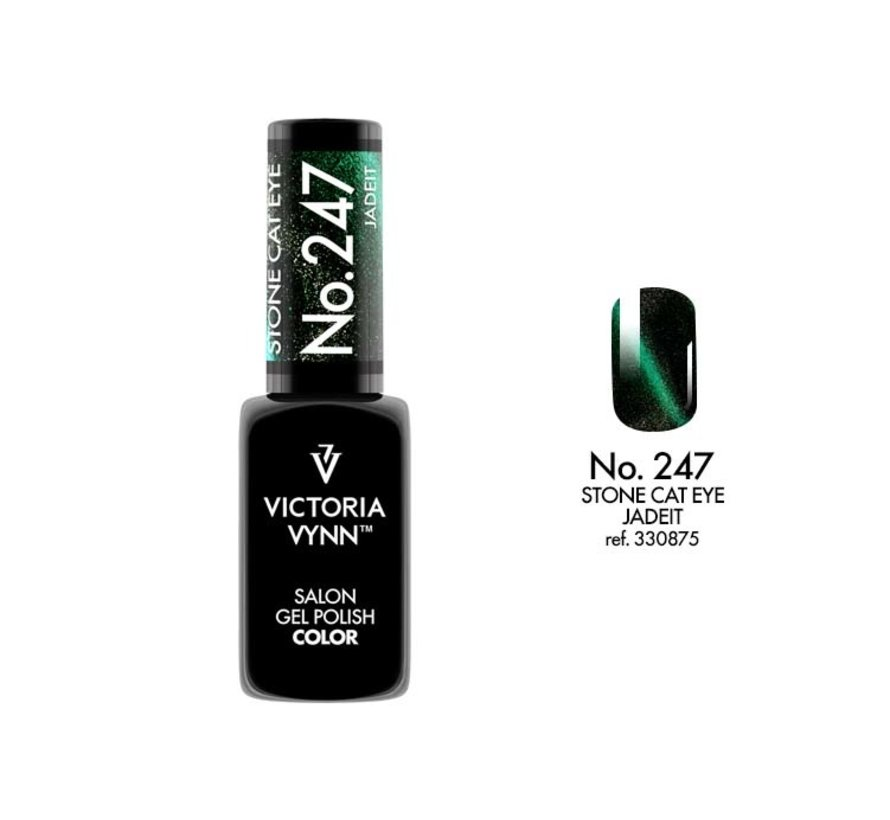 Victoria Vynn™ Gel Polish Stone Cat Eye Jade It  - 247 - 8 ml.