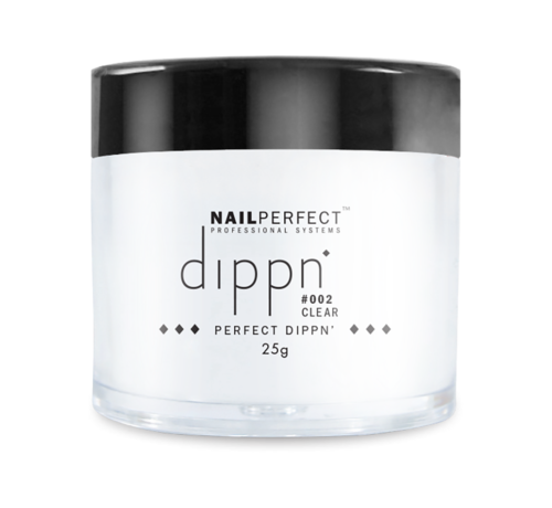 NailPerfect Dip poeder voor nagels - Dippn Nailperfect - 002  Clear  - 25gr