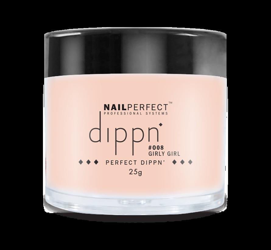 Dip poeder voor nagels - Dippn Nailperfect - 008  Girly Girl - 25gr