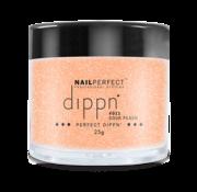 NailPerfect Dip poeder voor nagels - Dippn Nailperfect - 011 Sour peach - 25gr