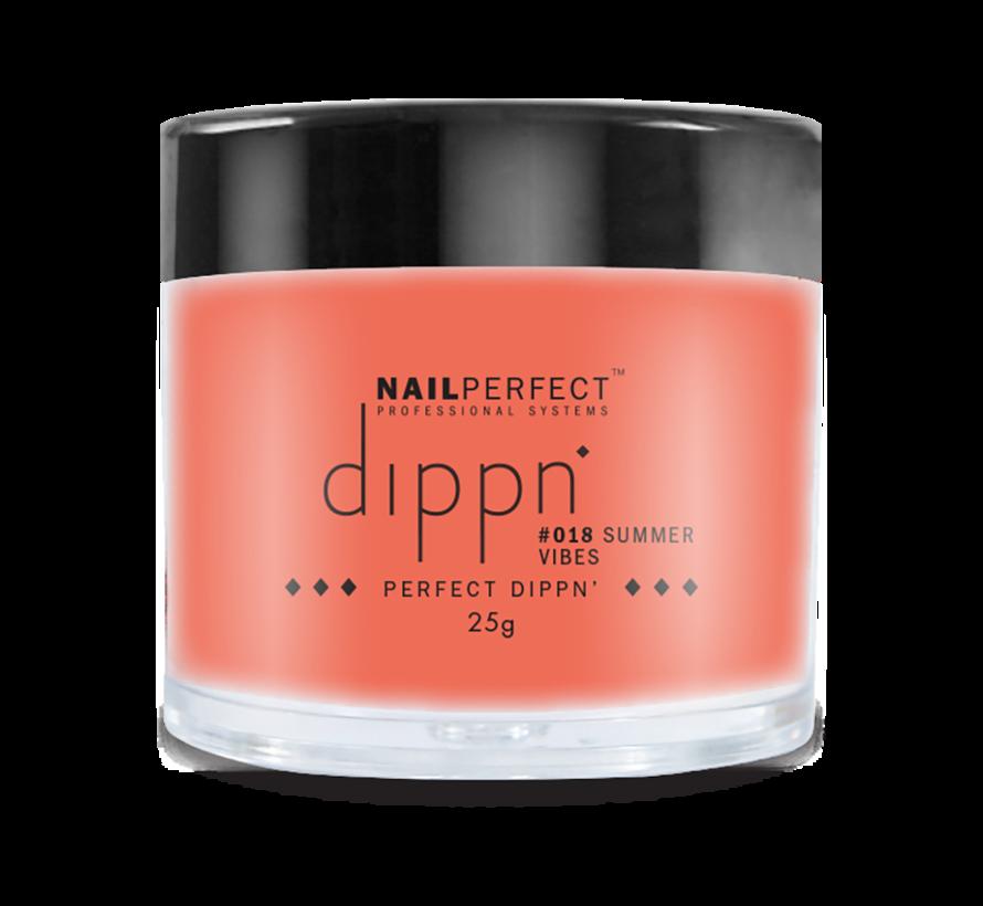 Dip poeder voor nagels - Dippn Nailperfect - 018  Summer vibes  - 25gr