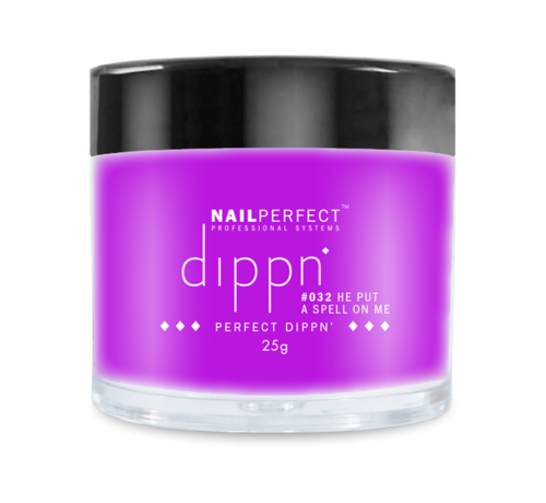 NailPerfect Dip poeder voor nagels - Dippn Nailperfect - 032  He put a Spell On Me - 25gr