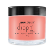 NailPerfect Dip poeder voor nagels - Dippn™ Nailperfect - 020  Cheeks  - 25gr