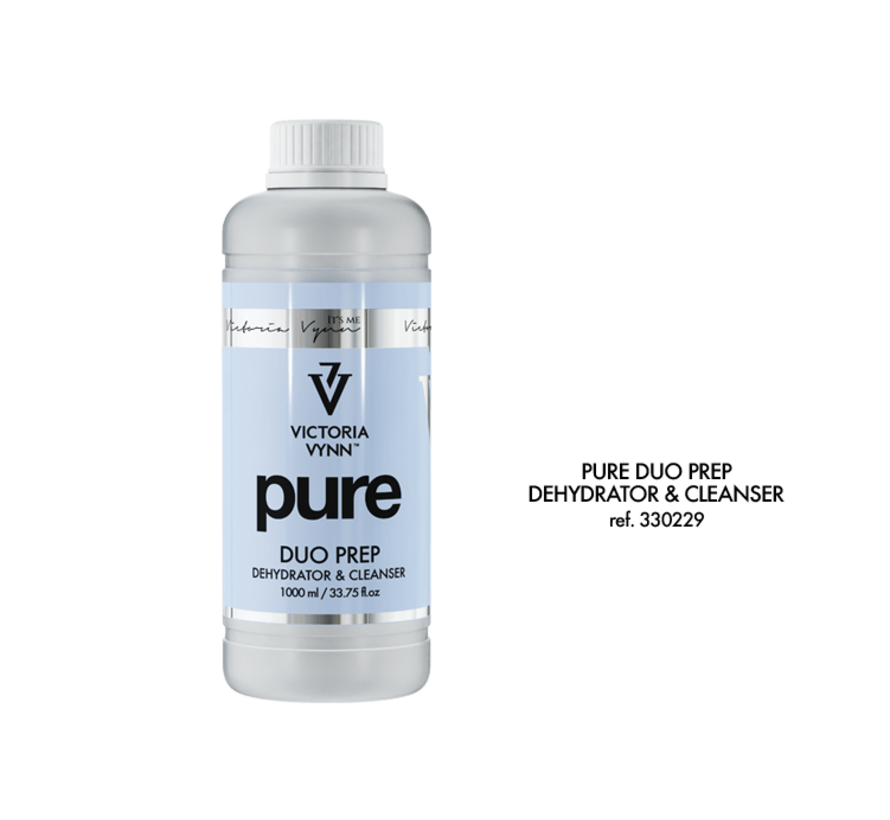 Victoria Vynn™ Pure Duo Prep dehydrator - cleanser - Bevat alcohol - 1000ml.