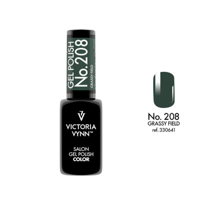 Gellak Victoria Vynn™ Gel Nagellak - Salon Gel Polish Color 208 - 8 ml. - Grassy Field