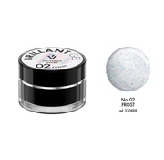 Victoria Vynn  Victoria Vynn™ - Brillant Gel UV/LED - Extreme glitters 02 Frost - 5 gram  - Wit Hologram glitters