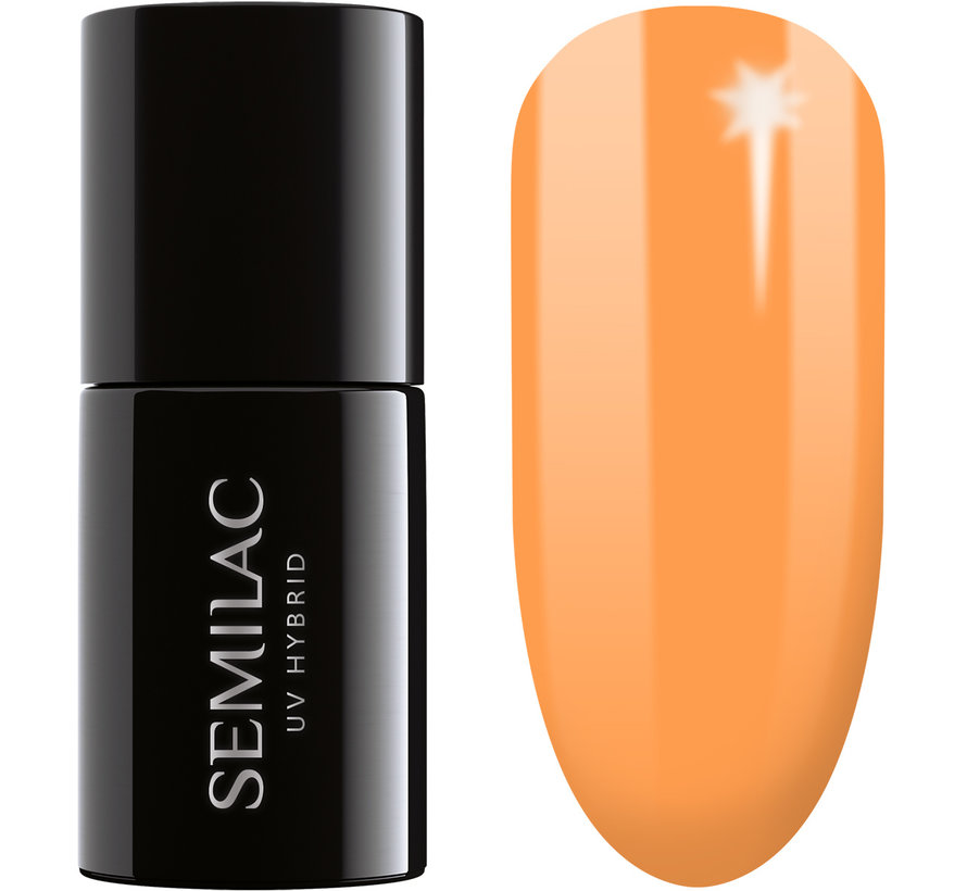 Semilac Gellak Oranje Pastel | 362 Go Out With Me | Gel Nagellak | 7 ml