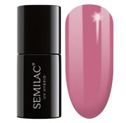 Semilac 200 Semilac UV Hybrid Gel Nagellak Old Pink 7 ml.