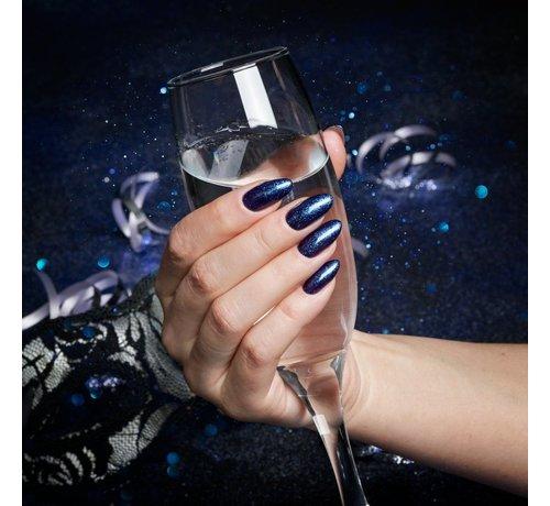 Semilac Semilac Gellak - 341 Shimmer Teal - 7 ml - Blauw - Glitter