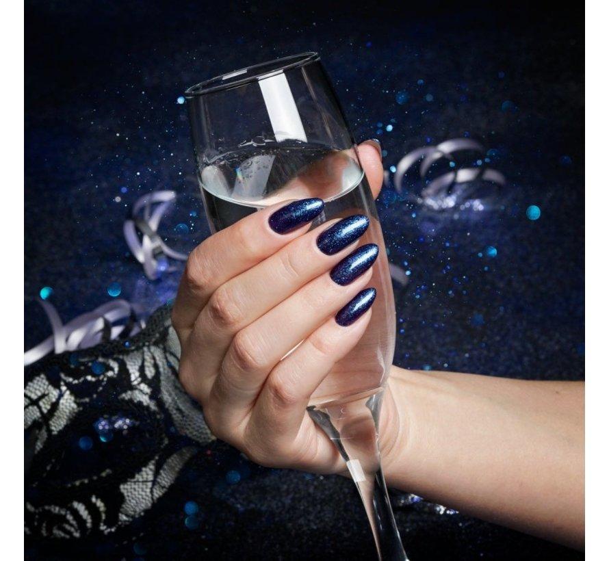 Semilac Gellak - 341 Shimmer Teal - 7 ml - Blauw - Glitter