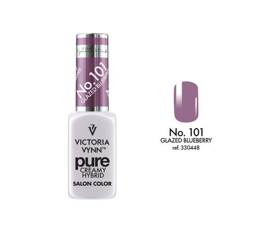 Victoria Vynn  Gellak Victoria Vynn™ Gel Nagellak - Gel Polish - Pure Creamy Hybrid  - 8 ml - Glazed Blueberry  - 101