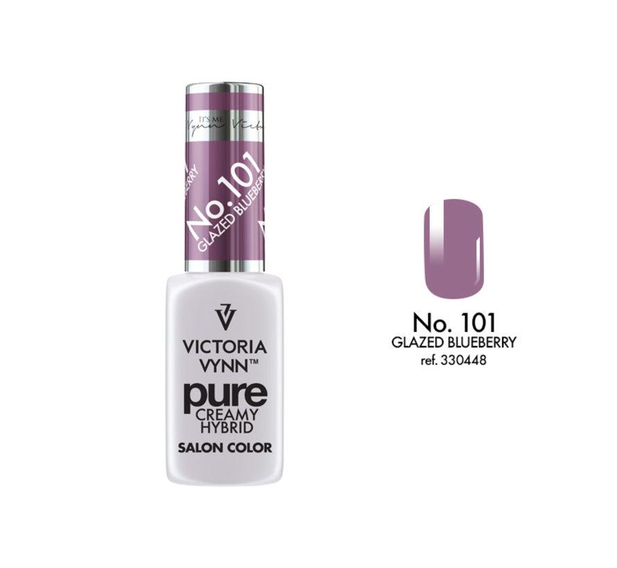Gellak Victoria Vynn™ Gel Nagellak - Gel Polish - Pure Creamy Hybrid  - 8 ml - Glazed Blueberry  - 101