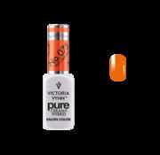 Victoria Vynn  Gellak Victoria Vynn™ Gel Nagellak - Gel Polish - Pure Creamy Hybrid  - 8 ml - Hot Orange  - 075