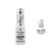Victoria Vynn  Gellak Victoria Vynn™ Gel Nagellak - Gel Polish - Pure Creamy Hybrid  - 8 ml - Luxury Silver  - 039