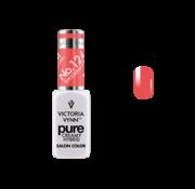 Victoria Vynn  Gellak Victoria Vynn™ Gel Nagellak - Gel Polish - Pure Creamy Hybrid  - 8 ml - Shocking Coral  - 124