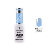 Victoria Vynn  Gellak Victoria Vynn™ Gel Nagellak - Gel Polish - Pure Creamy Hybrid  - 8 ml - Sky Blue  - 117