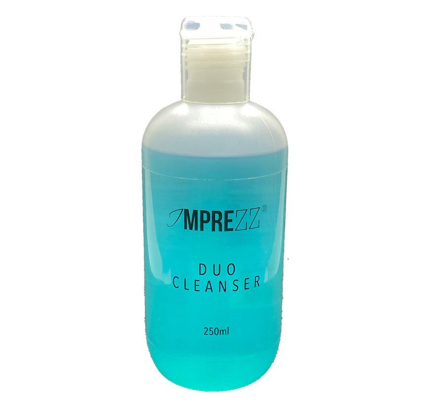 IMPREZZ® Duo Cleanser 250 ml | Voor het bewerken van polygel | het reinigen van de nagelplaat | verwijderen van de plaklaag | schoonmaken van jouw werkmaterialen