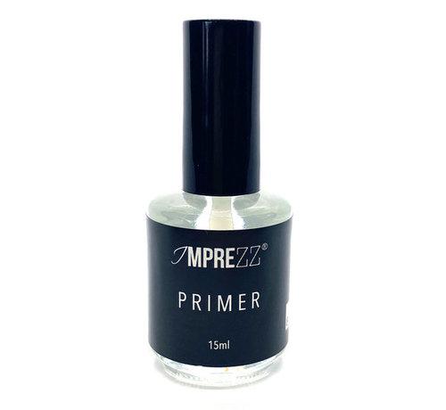 IMPREZZ® IMPREZZ Primer Acid 15ml   Voor extreme hechting tussen de nagelplaat en jouw kunstnagelproduct   De enige echte primer   Inhoud 15ml.