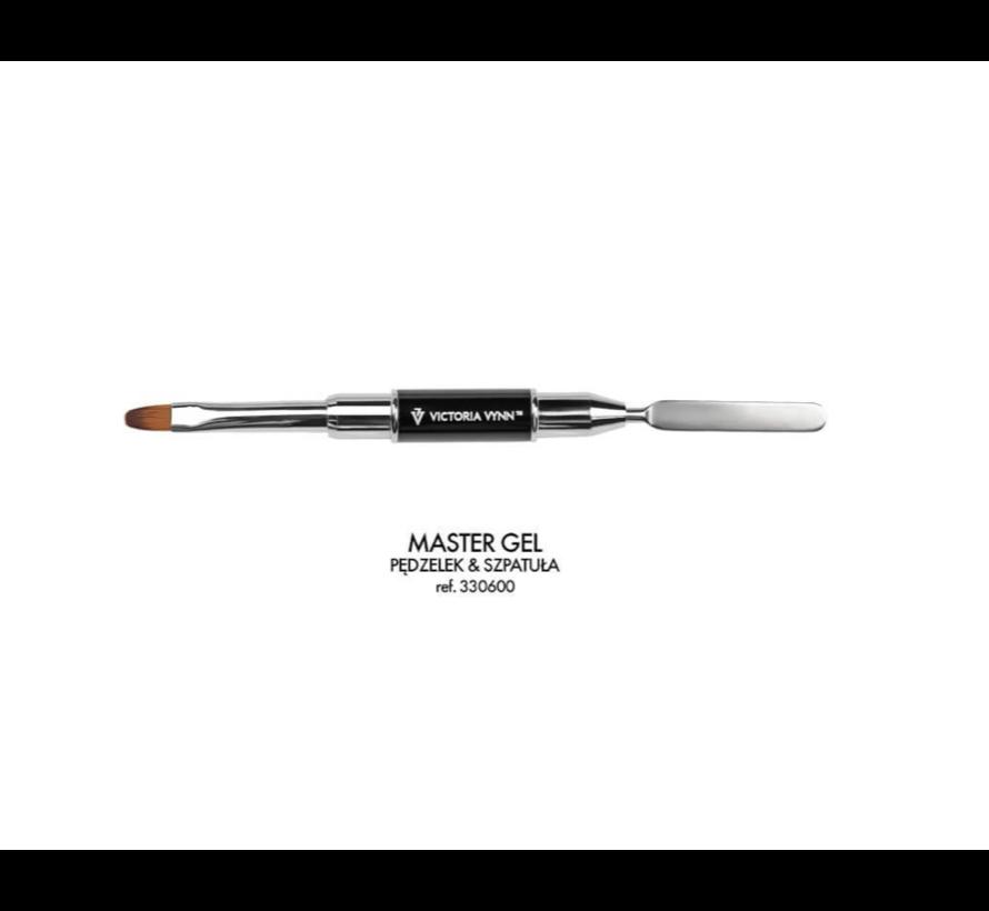 Victoria Vynn™ Polygel - Master Gel brush & spatula - voor het gemakkelijk aanbrengen van je polygel