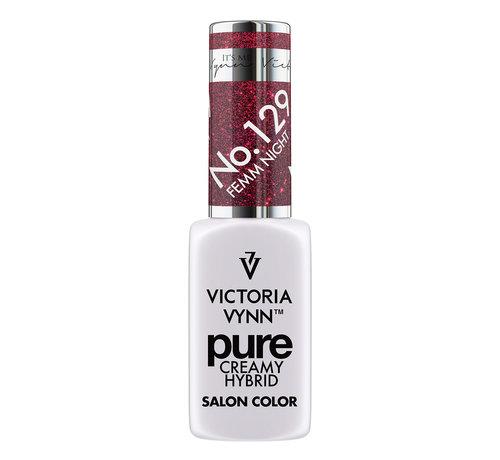 Victoria Vynn  Gellak Victoria Vynn™ Gel Nagellak - Gel Polish - Pure Creamy Hybrid  - 8 ml - Femm Night  - 129