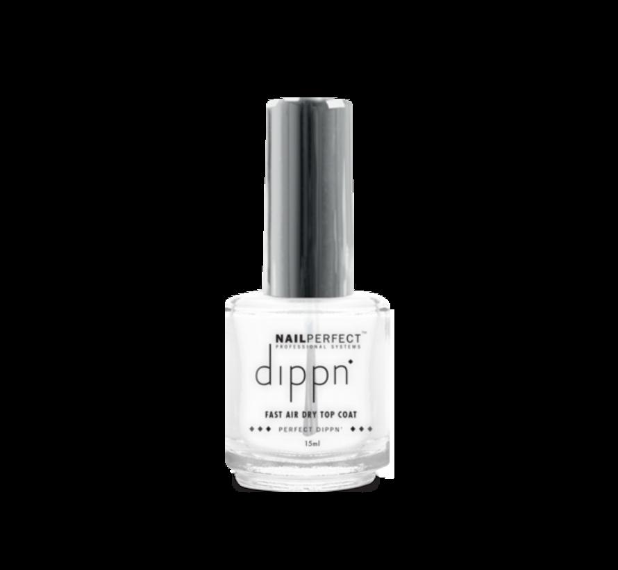 Dip poeder Starter Kit - NailPerfect - Dippn Kit (Dippn' Sticky Base 15ml, Dippn' Activator 15ml, Dippn' Fast Dry Top Coat 15ml, Dippn' 004 Cover = Zacht Roze25 gram)