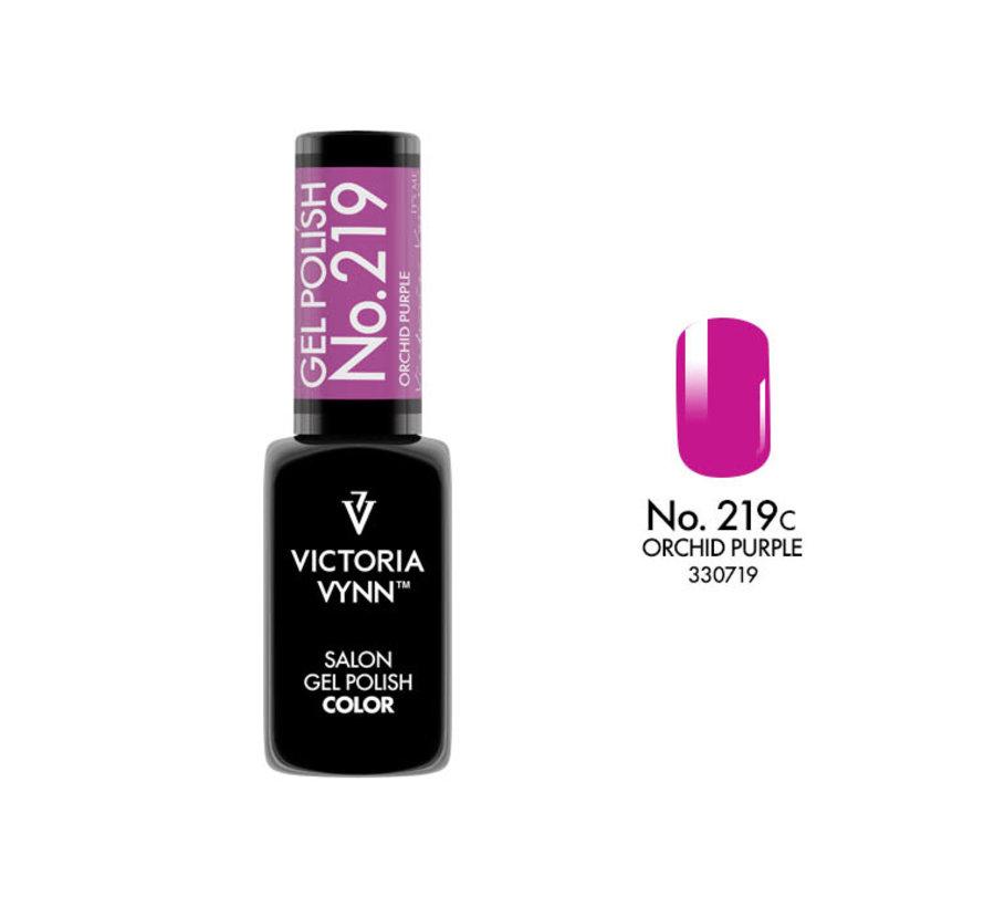 Gellak Victoria Vynn™ Gel Nagellak - Salon Gel Polish Color 219 - 8 ml. - Orchid Purple
