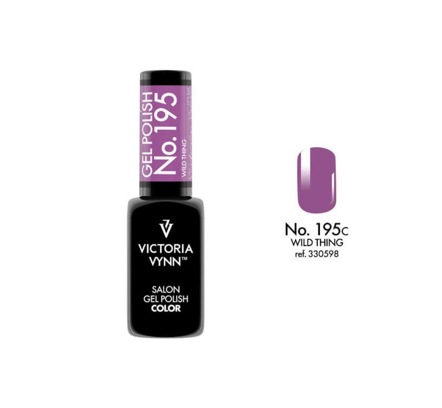 Gellak Victoria Vynn™ Gel Nagellak - Salon Gel Polish Color 195 - 8 ml. - Wild Thing
