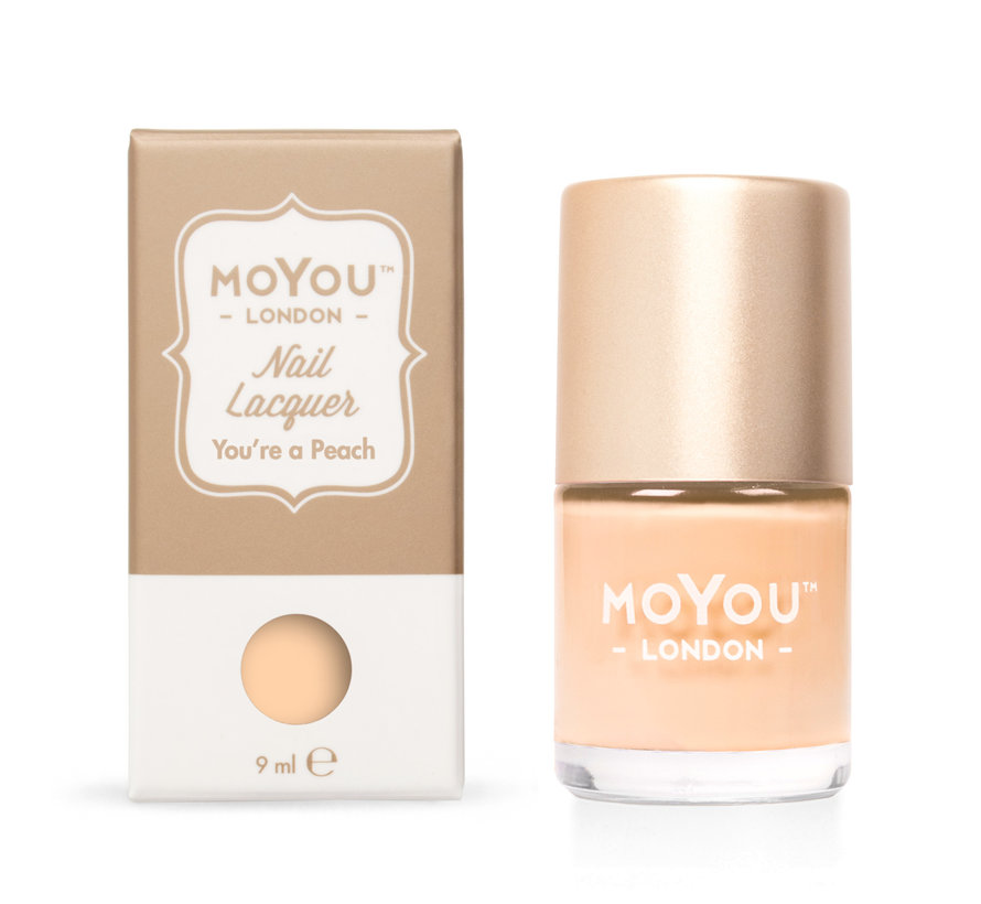 MoYou London Stempel Nagellak - Stamping Nail Polish 9ml. - Youre a Peach