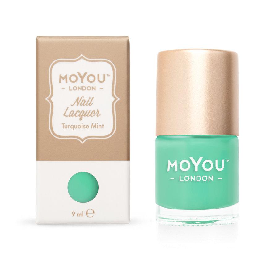 MoYou London Stempel Nagellak - Stamping Nail Polish 9ml. - Turquoise Mint