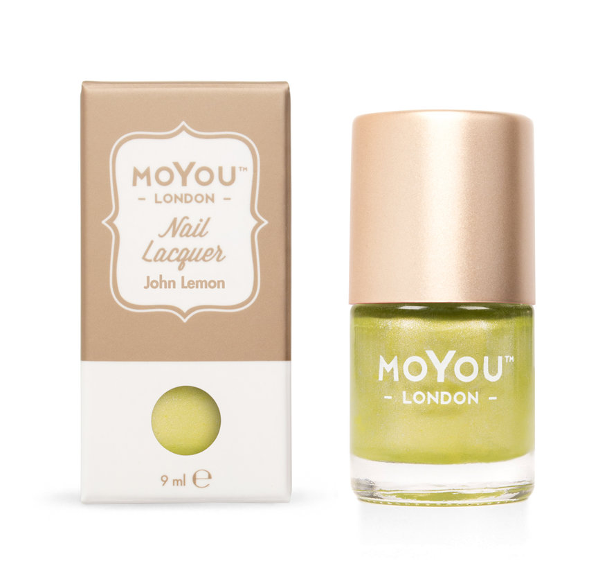 MoYou London Stempel Nagellak - Stamping Nail Polish 9ml. - John Lemon