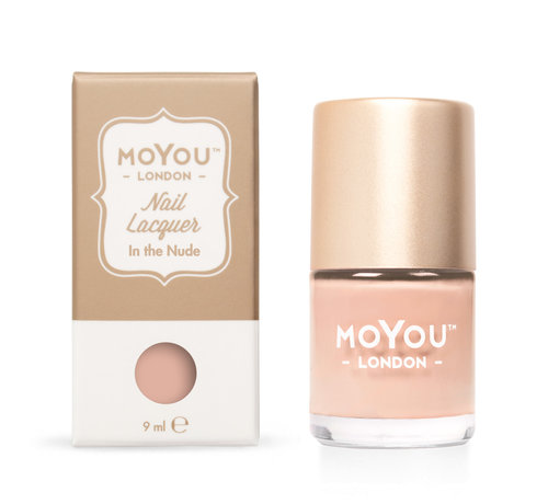 MoYou London  MoYou London Stempel Nagellak - Stamping Nail Polish 9ml. - In the Nude