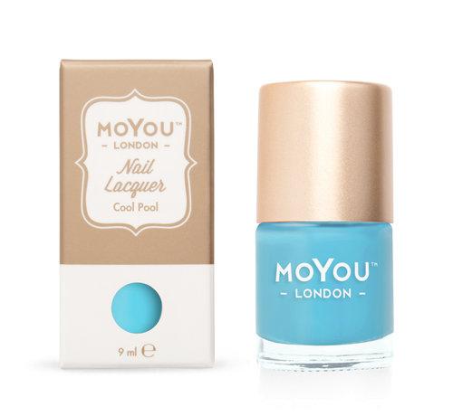 MoYou London  MoYou London Stempel Nagellak - Stamping Nail Polish 9ml. - Cool Pool