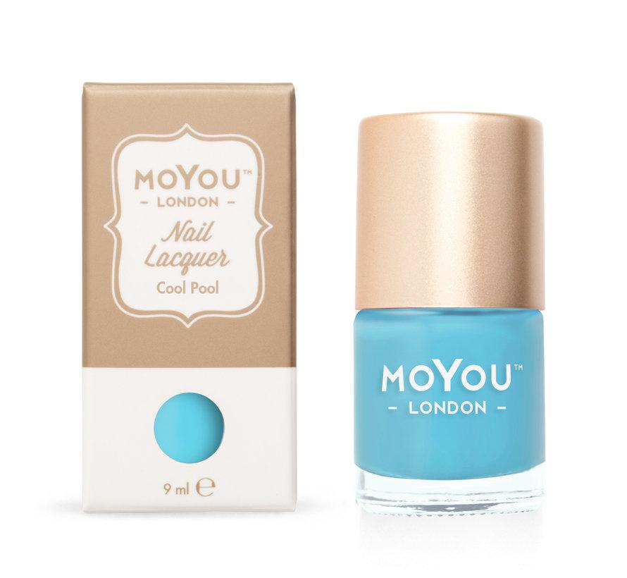 MoYou London Stempel Nagellak - Stamping Nail Polish 9ml. - Cool Pool